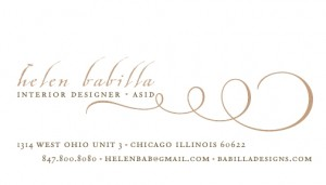Business card; chicago-1
